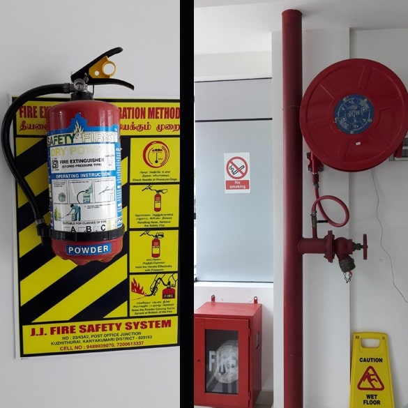 Hospital Fire and safety facilities