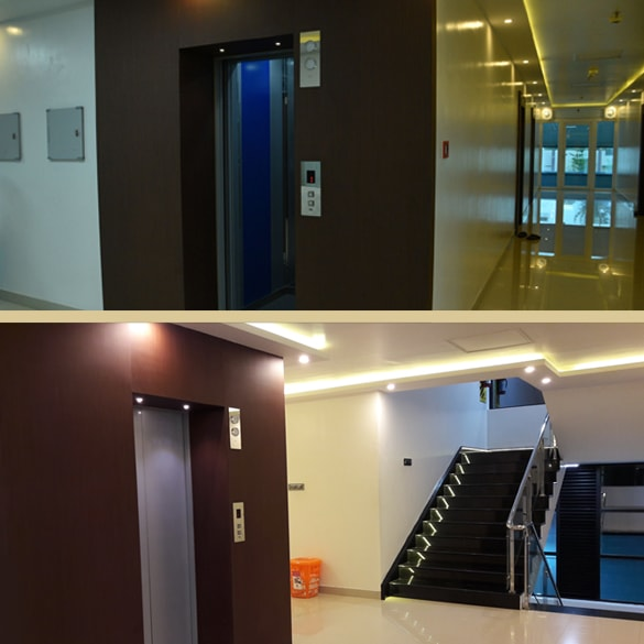 Spine care centre lift facilities