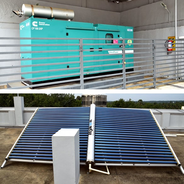 Centralised Air condition facility
