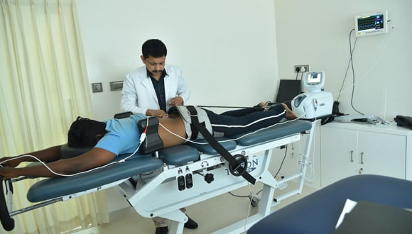 Non invasive spinal care treatment in Tamil Nadu, India