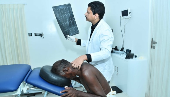 Spinal nerve compression treatment in Tamil Nadu, India